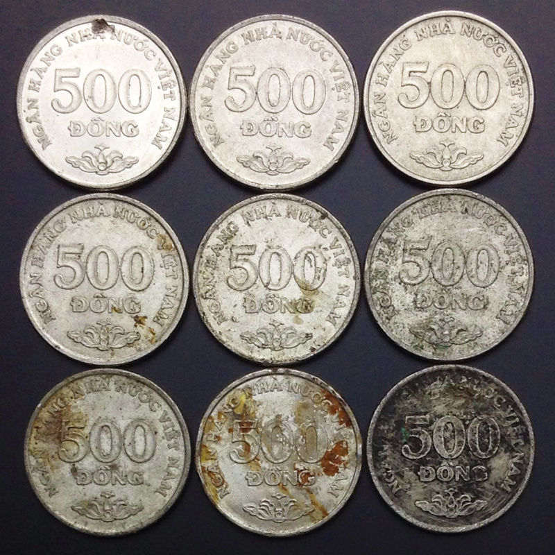 Vietnam 500 VND  Coin Original Coins 100% Real Authentic Collection
