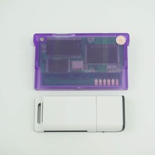 Ganer con versión de tarjeta SD 2G compatible con cartucho de tarjeta de juego avanzado GameBoy para juegos múltiples GBA SP