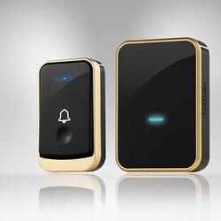 ANPWOO Wireless Doorbell Intelligent Wireless Doorbell Electronic Waterproof Doorbell Intelligent Wireless Calling Device