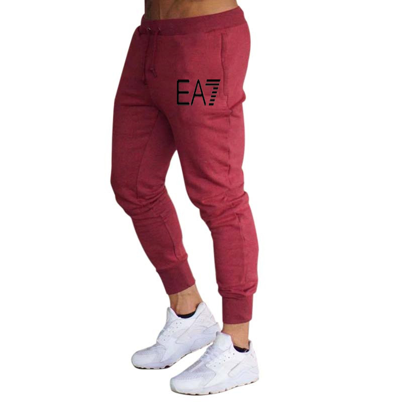 2020 New hot sale men's casual sports pants fashion foot casual pants men's jogging fitness pants gym sports