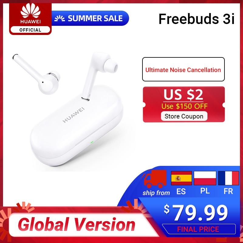 RUB 2500-300 CodeHW300,Новое прибытие глобальная версия FreeBuds 3i 3 i TWS Bluetooth наушники беспроводные наушники с окончательным шумоподавлением 3-mic система