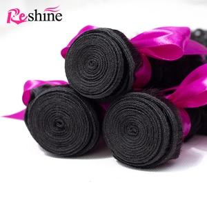 Image 3 - Reshine 브라질 곱슬 곱슬 머리 4 묶음 거래 100% 인간의 머리카락 제리 컬 위브 번들 10 26 인치 레미 헤어 익스텐션