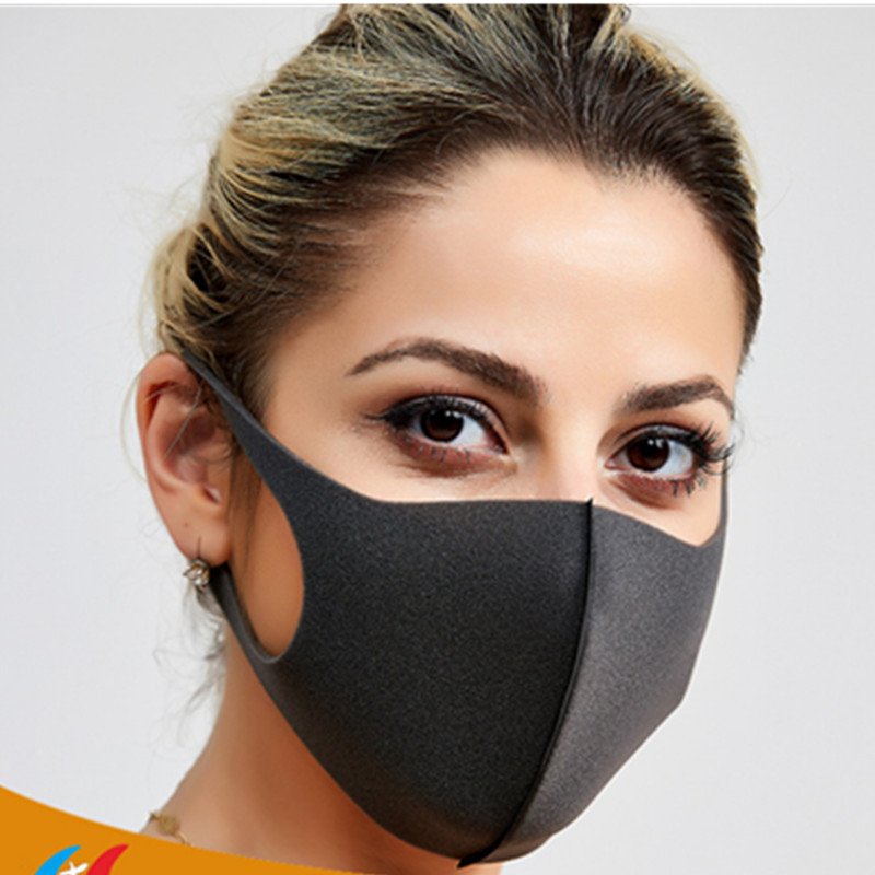 100/10 Pcs N95 Face Protective Mask Anti Pollution PM2.5 Mouth Mask Anti-Dust Filter Reusable Mask Cotton Unisex Washable Masks