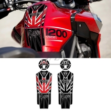 For Triumph Tiger 1200 Explorer 2012-2017 2013 2014 2015 2016 3D Resin Motorcycle Gas Tank Pad Protection Decals Stickers