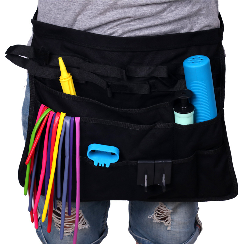Street Selling Clown Magic Balloon Performance Tool Fanny Pack Multi-pockets Apron Balloon Tool Bag Accessories Magic Bag