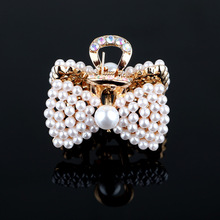 In 2020, the new trend hot selling Korean new pearl clip headdress women's general independent bangs hairpin hair accessories