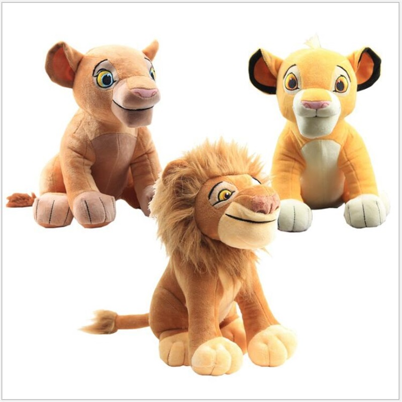 10/26/28cm New Style Sitting The Lion King Plush Toys Stuffed Animals Appease Collection Kids Toys Christmas Birthday Gifts