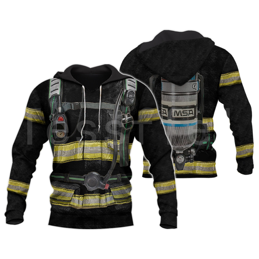 Tessffel Firefighters Suit Firemen Superhero Harajuku Tracksuit NewFashion 3DPrint Zipper/Hoodies/Sweatshirt/Jacket/Men/Women 12
