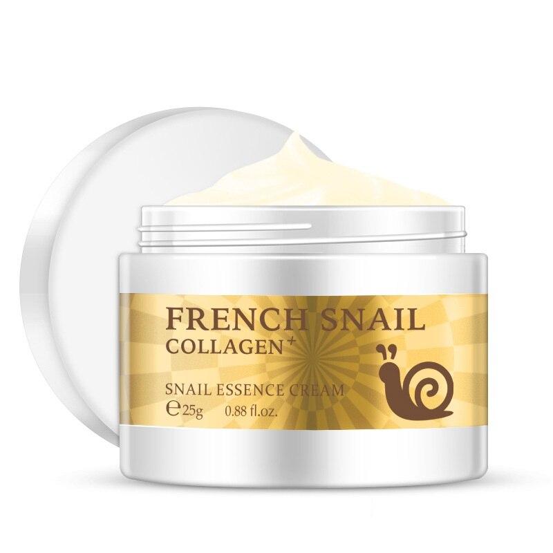 Creme de rosto caracol natural anti rugas anti envelhecimento hidratante nutritivo colágeno apertado clareamento dia creme cuidados com a pele