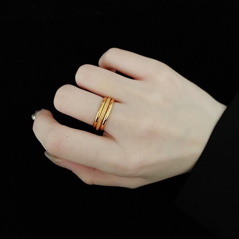 do anel de aco titanio simples 03