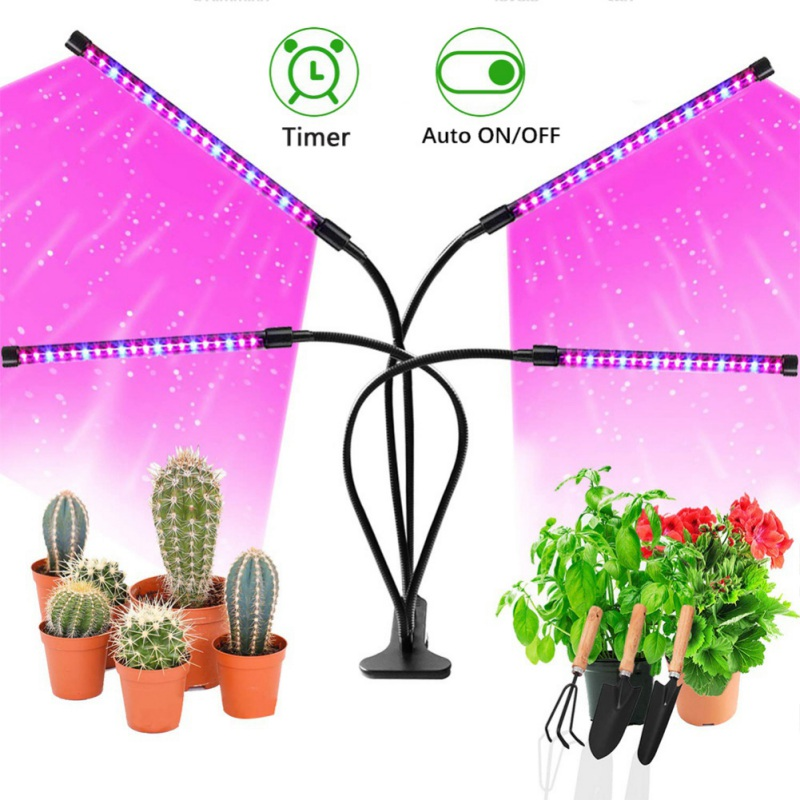 Clip On USB Powered LED Grow Light USB Phyto Lamp Full Spectrum With Control For Plants Flower Indoor