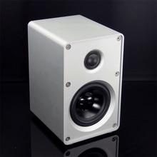 KYYSLB 100X160X120 MM muzyka sztuka nr 1 głośnik głośnik półkowy głośnik Hi Fi 3 cal dwukierunkowy gorączka wzmacniacz głośnik
