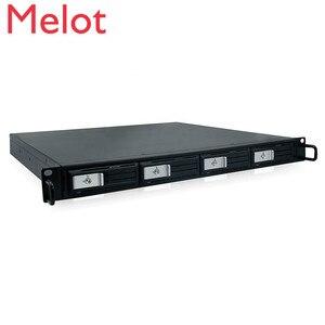 SQR TOOLFREE 1u корпус жесткого диска в стойку 4 отсека 3,5 дюймов Серверная клетка MiniSAS SFF-8088