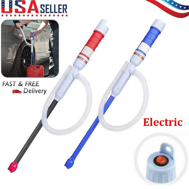 Portable Handheld Pump Siphoning Liquid Transfer Water Gas Hot  Liquid Gasoline Transfer Pump Petrol Electric Petrol Fuel