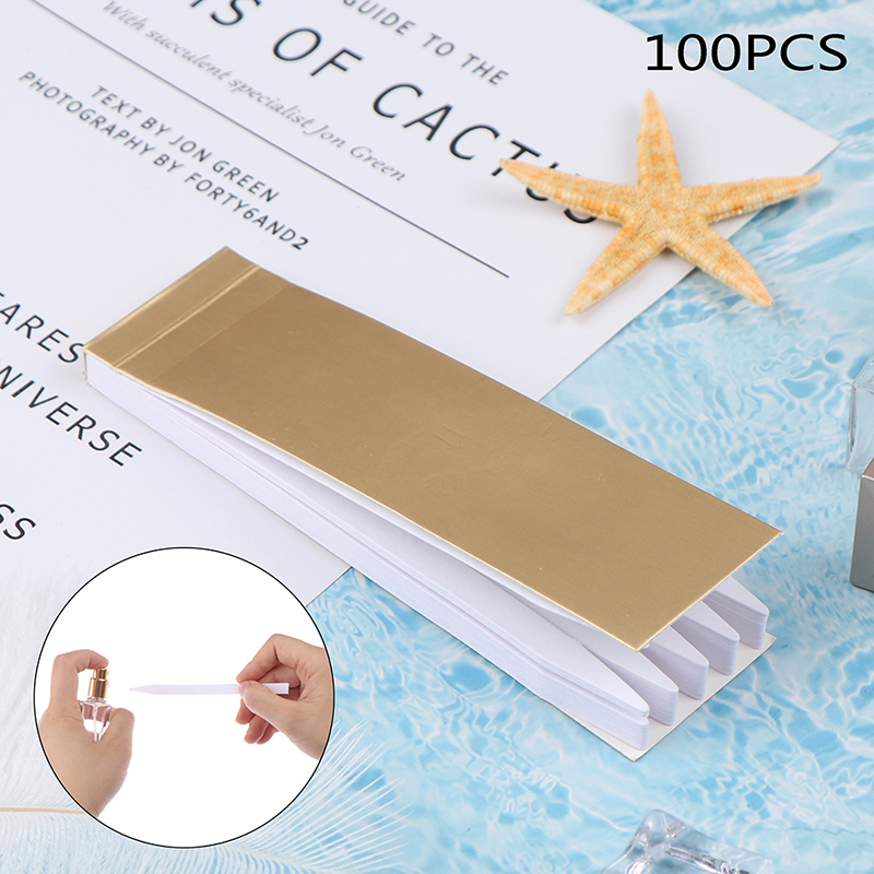 100Pcs 133*8mm Aromatherapy Fragrance Perfume Essential Oils Test Paper Strips