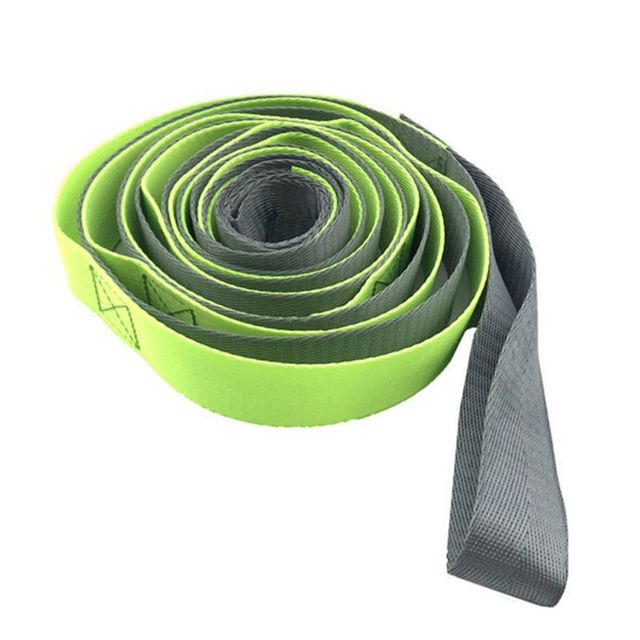 Ensemble déquipement de Yoga de 8 pièces avec des blocs de Yoga étirant le Kit de démarrage de Yoga de bande de boucle de résistance de sangle pour la forme physique dexercice à la maison