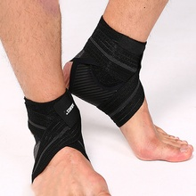 1 Pcs Multifunction Sprain Prevention Fitness Guard Band Ankle Brace Support Adjustable Elasticity Free Strap Protector