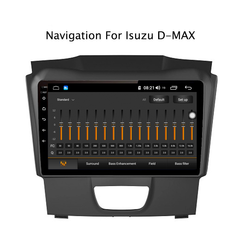 Clearance Ectwodvd 9inch Andriod 8.1 Car DVD GPS For Isuzu D-MAX DMAX 2015-2018 4G RAM 64G ROM CarPlay DSP 4G LTE with WIFI 4