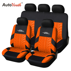 AUTOYOUTH 5 Colors Fashion Tire Trace Style Universal Protection Car Seat Cover Suitable For Most Car Seat Covers Car Interior
