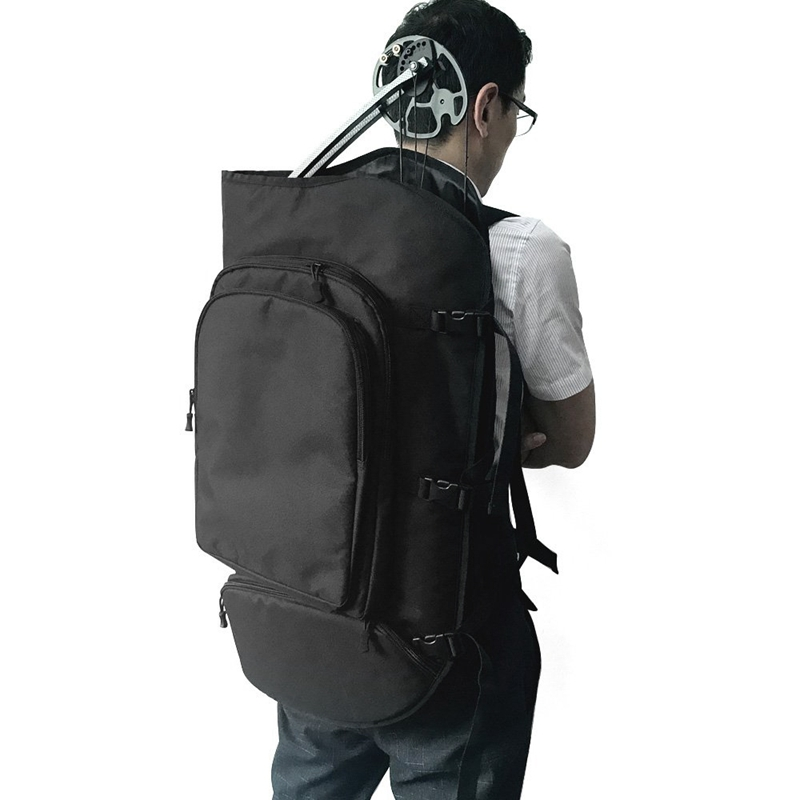 Archery Compound Bow Backpack Bag with Arrows Pocket /& Straps Black 115x45cm