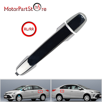 FLYPIG New Outside Door Handles Kit Front Rear Left Right Chromed For Toyota Camry Vigo Vios Altis 2008-2011 image