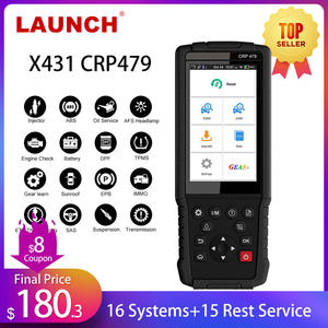 LAUNCH OBD2 Scanner Reset Car-Diagnostic-Tool Immo-Key DPF JOBD X431 WIFI CRP479 TPMS