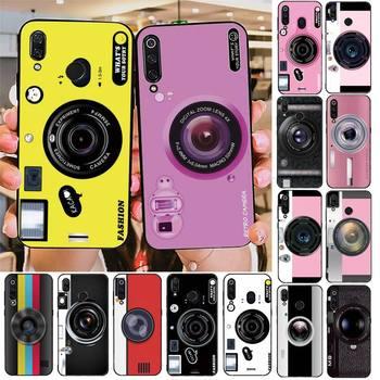 Милый Роскошный чехол для телефона YNDFCNB с камерой для Redmi note 8Pro 8T 6Pro 6A 9 Redmi 8 7 7A note 5 5A note 7, чехол