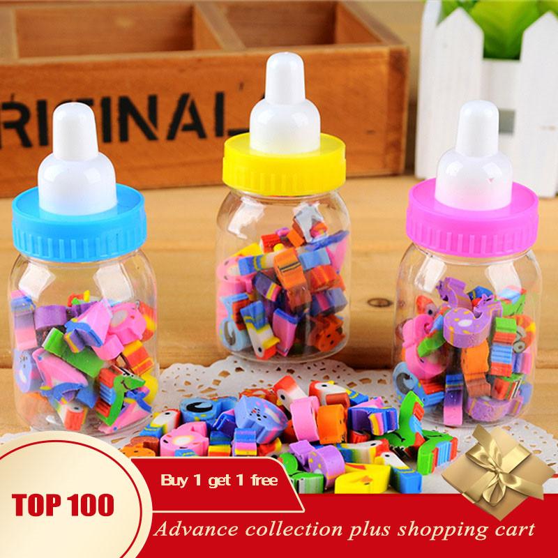 Borracha Gumka Erasers For Kids Gomme Kawaii Gomas De Borrar Con Formas Cute Gifts Eraser Set Jelly Fruit Candy School Supplies