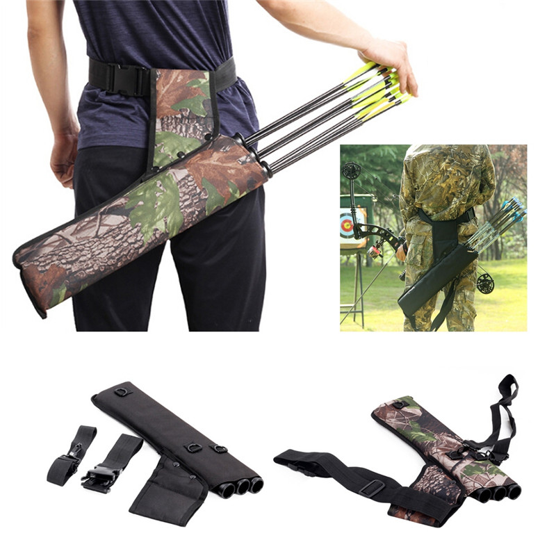 1 pc Arrow Bag Oxford Cloth Arrow Quiver Single Shoulder for Bow and Arrow Archery Hunting Shooting 66|Bow & Arrow| |  - title=