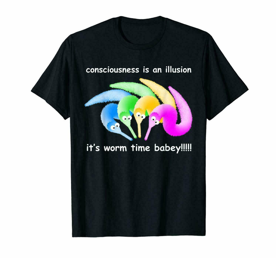 Death Is Inevitable Magic Worm On A String Meme T-Shirt Tee Us Coton Trend 2019 High Quality Casual Printing Tee Shirt