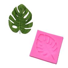 #20 Turtle Leaves Silicone Fondant Mold Cake Decor Chocolate Sugarcraft Baking Tools 3D tree leaf Chocolate Gumpaste Mold