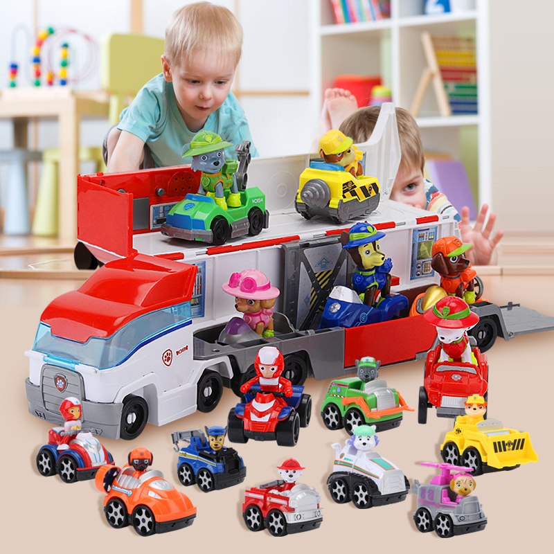 Paw Patrol Watchtower Dog Plastic Playset Observatory Patrulla Canina Toy With Voice Action Figures Model Children Toys Gifts