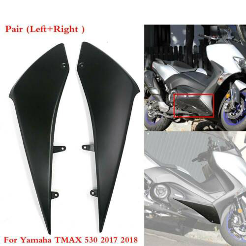 Matte black Complete cowl Fairings for yamaha TMAX <font><b>T</b></font>-<font><b>MAX</b></font> <font><b>T</b></font> <font><b>MAX</b></font> <font><b>530</b></font> 2017 <font><b>2018</b></font> side under lower fairing TMAX530 <font><b>T</b></font>-MAX530 image