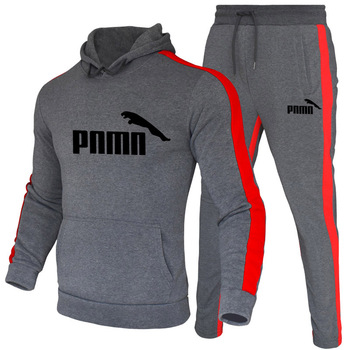 Autumn and Winter 2020 New Men's Hoodie Suit Brand Sportswear Pullover Suit Hoodie + Sweatpants Jogging Men's Pullover 3XL Sport