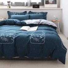 nordic Bedding Set Twin Queen King Size Teens Girls Boys Kids Bed Linen set duvet cover flat Sheet Pillowcase