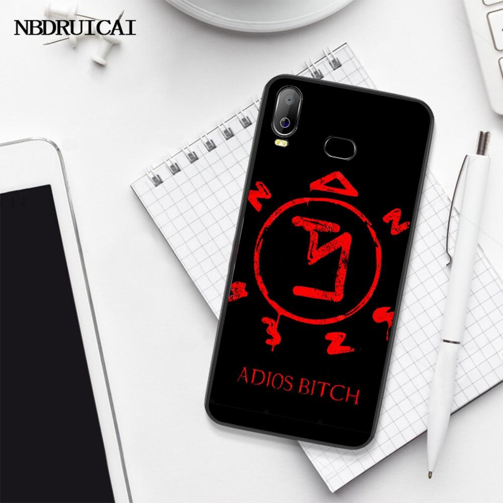 NBDRUICAI Supernatural Copertura Della Cassa Del Telefono Per Samsung A10 A20 A30 A40 A50 A70 A71 A51 A6 A8 2018
