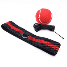 Raising Reaction Elastic Headband Reflex Punch Home Sports Equipment Gym Exercise Speed Training Fitness Boxing Ball Anti Sweet(China)