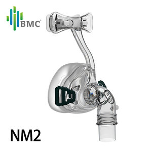 Image 2 - BMC NM2/NM4 Nasal Mask CPAP Mask Sleep Mask with Headgear S/M/L Different Size Suitable For CPAP Machine Connect Hose and Nose