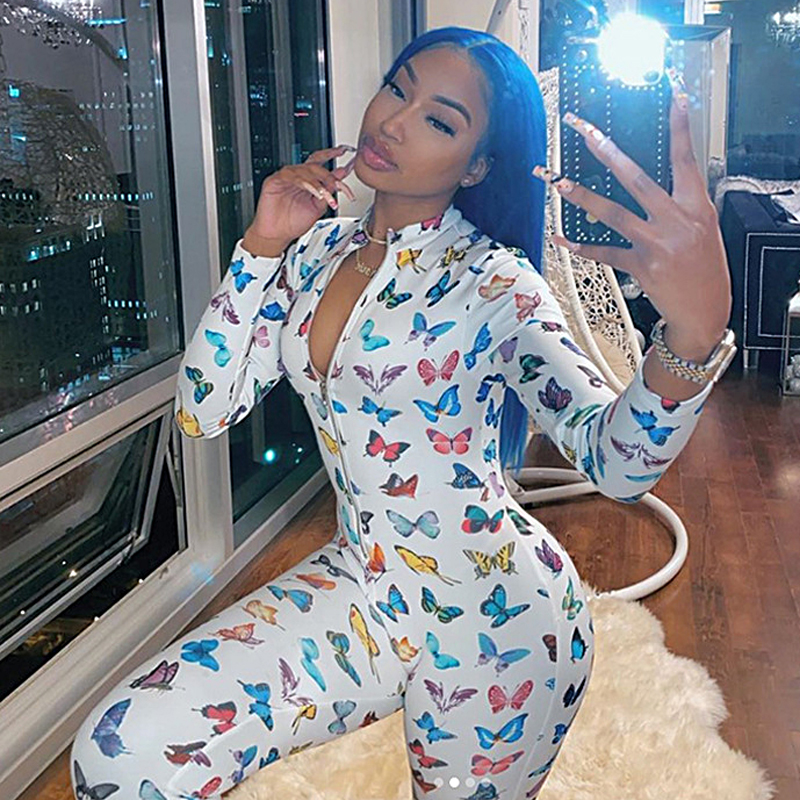 Butterfly Women Onesies Pijamas Plus Size Sleepwear Pyjamas Nightwear Jumpsuit Pajamas Onesies For Adults Women Sexy Lingerie