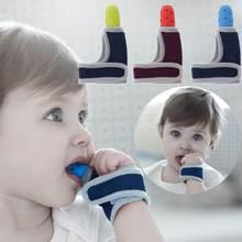 Детские перчатки для защиты пальцев повязка на запястье сосания