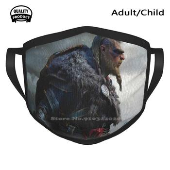 Valhalla Washable Breathable Reusable Masks Valhalla Valhalla Creed Valhalla Assassins Ac Valhalla 2020 2021 Valhalla Gameplay image