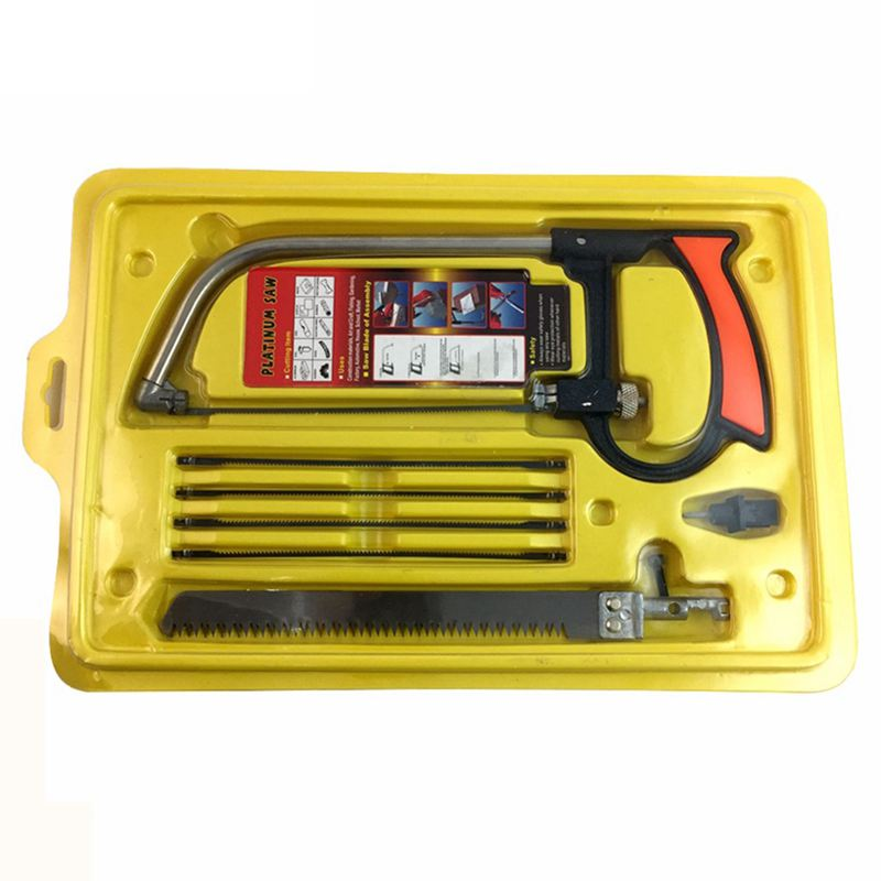 Promotion! Multi purpose small hacksaw Hacksaw frame with steel saw blade Carpentry Wire saw Hand saw suit Saw     - title=