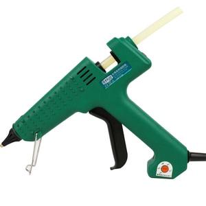 Image 3 - LAOA 25W/60W/100W/150W חם להמיס דבק אקדח מקצועי pistolet a colle מיני עבור מתכת/עץ עבודה מקל נייר סיכת ראש PU פרח
