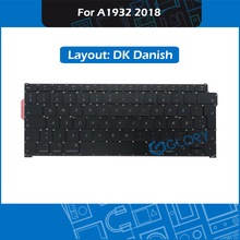 New DK Danish Layout A1932 Keyboard For Macbook Air 13.3″ Late 2018 Denmark Keyboard Replacement EMC 3184 MRE82