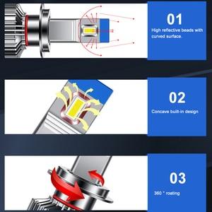 Image 2 - H4 Led H7 Led canbus 헤드 라이트 디코드 자동차 높은 품질 Led 전구 H1 자동차 H11 led 조명 자동차 9005 9006 9012 램프