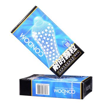 10 sztuk dorosłych Sex produkty Sensation kobiety g-spot stymulacja pochwy prezerwatywy mężczyźni lateksowe cząstki przyjemność prezerwatywy nakładka na penisa tanie i dobre opinie 52+-2mm Normalne rubber Gumy C517