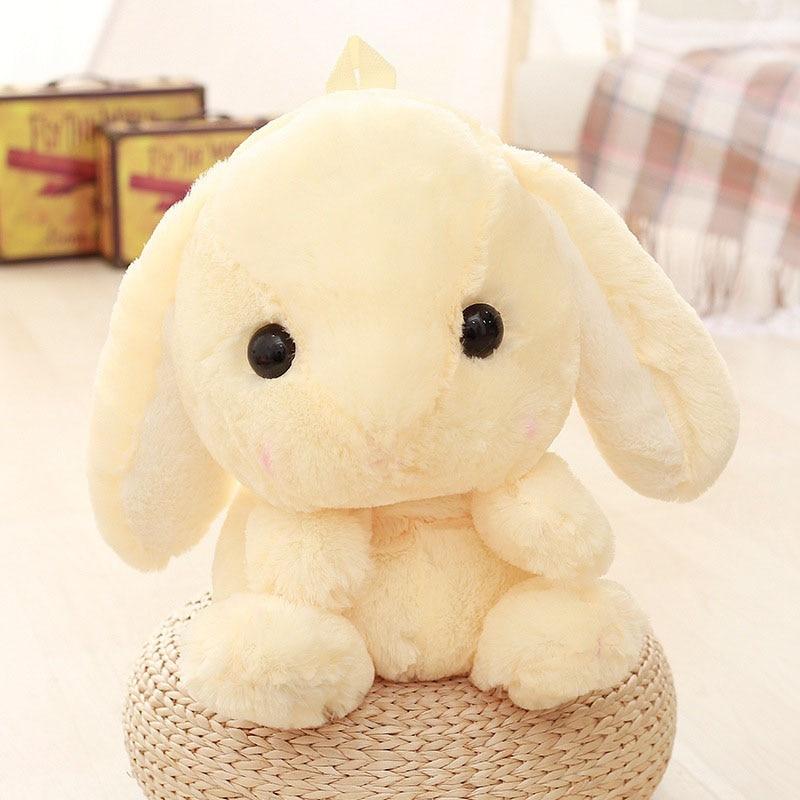 Newly Kids Backpack Travel Bag Cartoon Bunny Bag Cute Rabbit Doll Plush Stuffed Toy  FIF66