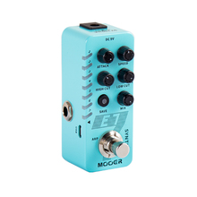 цена на MOOER E7 Synth Guitar Pedal 7 Types Custom Synthesizer Synth Tones Polyphonic Individual Arpeggiator for Each Tone