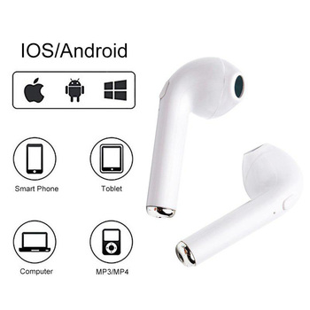 Ottwn TWS i7s Bluetooth earphone V4.2 Wireless Stereo Bass Headset Sport Headset with mic Charging Box for iPhone Xiaomi Huawei felkin i7s tws wireless bluetooth headphone portable bluetooth earphone i7s tws with charging box bluetooth headset for iphone