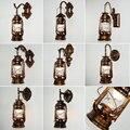 Керосин настенный светильник древний светильник в форме лошади пассаж настенный светильник Бар Ресторан украшение железное искусство пер...
